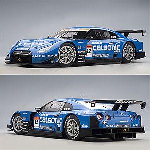 1/18 日産 GT-R SUPER GT 2008 カルソニック インパル GT-R #12【80877】 オートアート