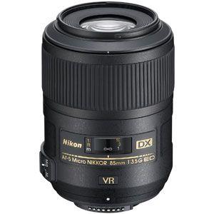 AFSDXMC85/3.5EDVR ニコン AF-S DX Micro NIKKOR 85mm f/3.5G ED VR ※DXフォーマット用レンズ(24mm×16mm)