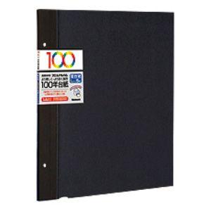 アH-LFR-5-D 業界No.1 ナカバヤシ 替台紙 5枚 Lサイズ ブラック 100年台紙 Nakabayashi 開店祝い