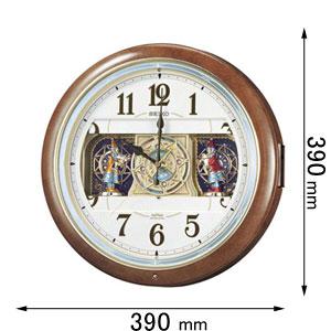 RE-559-H セイコークロック からくり時計 セイコーメロディ [RE559H]【返品種別A】