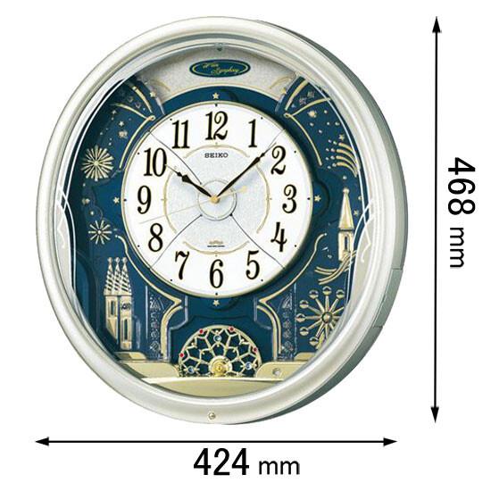 RE-561-H セイコークロック からくり時計 セイコーメロディ [RE561H]【返品種別A】