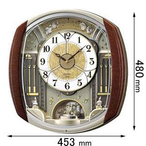 RE-564-H セイコークロック からくり時計 セイコーメロディ [RE564H]【返品種別A】