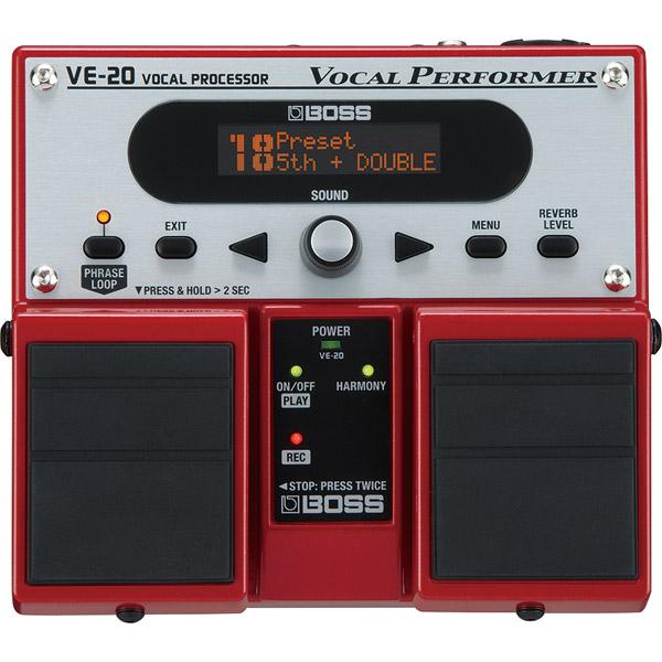 VE-20 BOSS ボーカル専用エフェクター Vocal Processor