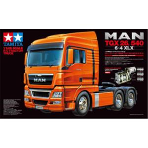 1/14 電動RC組立セット トレーラーヘッド MAN TGX 26.540 6×4 フルオペレーション【56324】 タミヤ