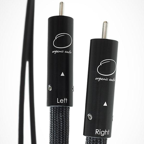 INTERCONNECT RCA 1.5 オーガニックオーディオ RCAケーブル(1.5m・ペア)【受注生産品】オリジナルMk シリーズ ORGANIC AUDIO