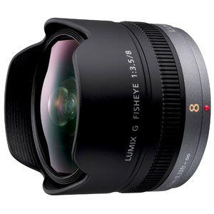 H-F008 パナソニック LUMIX G FISHEYE 8mm F3.5 ※マイクロフォーサーズ用レンズ