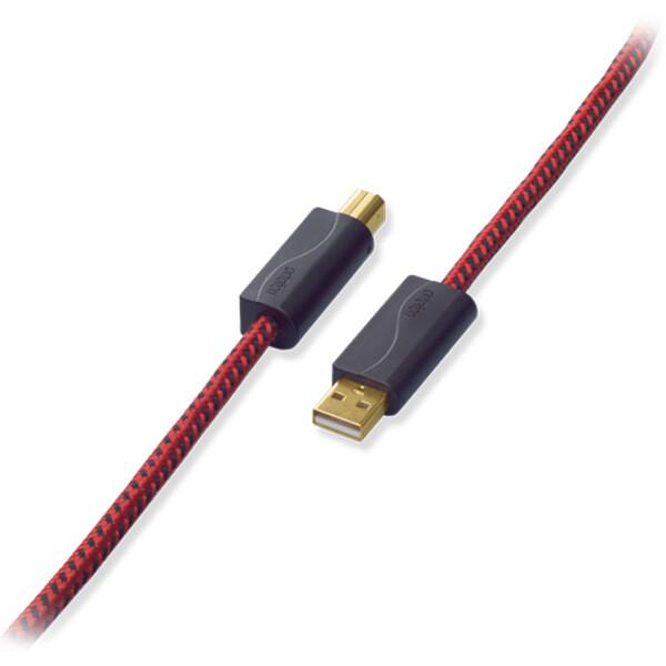 DGI-K2SILVER/2.0 オルトフォン オーディオグレードUSB 2.0ケーブル【A】タイプコネクターオス⇔【B】タイプコネクターオス (2.0m) ortofon