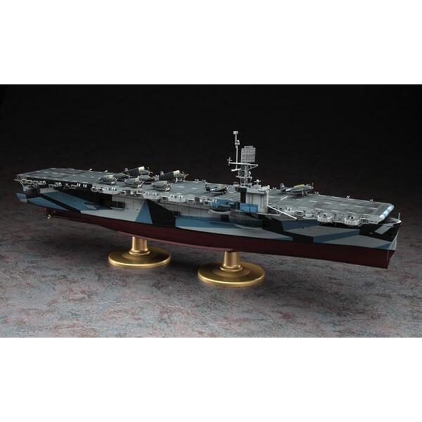 1/350 アメリカ海軍 護衛空母 CVE-73 ガンビアベイ【Z27】 ハセガワ