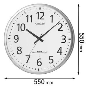 8MY465-019 シチズン 電波掛け時計 スペイシ-M465-19 [8MY465019]【返品種別A】