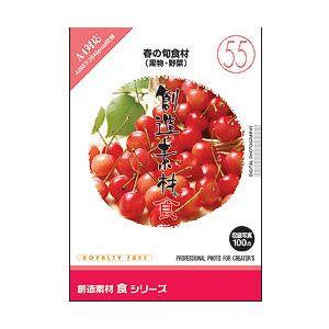創造素材 食(55)春の旬食材(果物·野菜) イメージランド