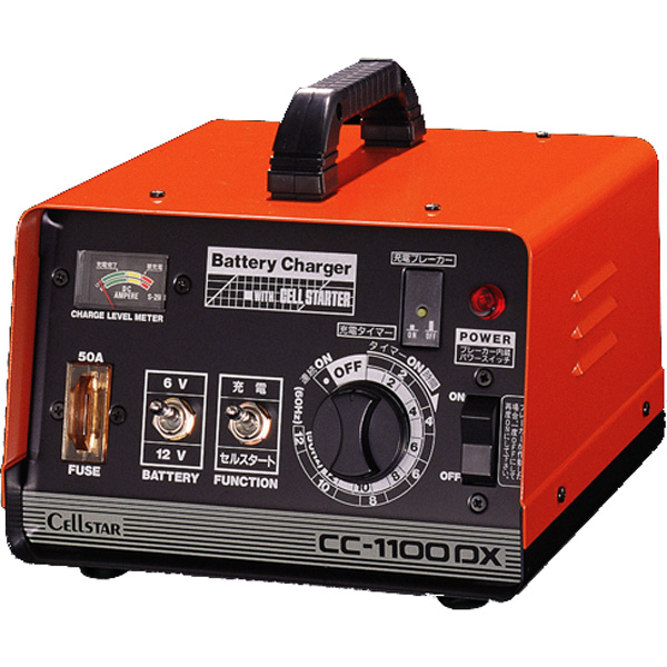 CC-1100DX セルスター セルスタート機能付バッテリー充電器 DC 6/12V用 CELLSTAR