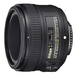 AFS50F/1.8G ニコン AF-S NIKKOR 50mm f/1.8G ※FXフォーマット用レンズ(36mm×24mm)
