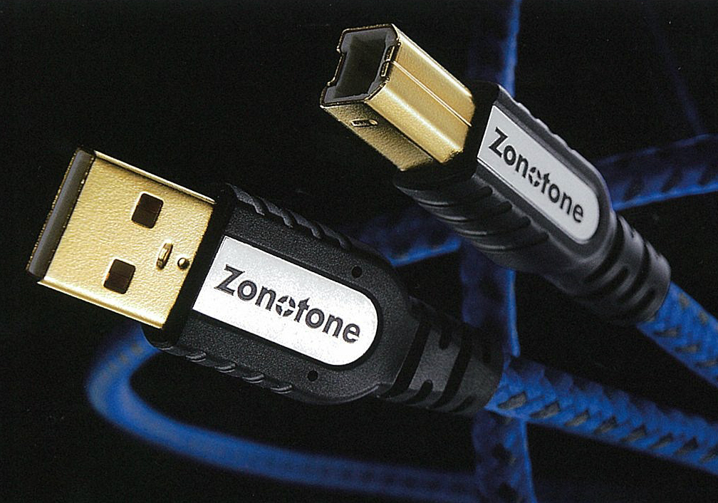 6N・USB-Grandio-2.0-2.0M ゾノトーン オーディオグレードUSBケーブル(2.0m・1本)【特注品】【A】⇔【B】タイプ《6N・USBグランディオ》 Zonotone