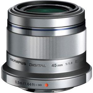 45MMF1.8 オリンパス M.ZUIKO DIGITAL 45mm F1.8(シルバー) ※マイクロフォーサーズ用レンズ
