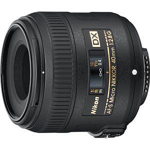 AFSDXMC40/2.8G ニコン AF-S DX Micro NIKKOR 40mm f/2.8G ※DXフォーマット用レンズ(24mm×16mm)