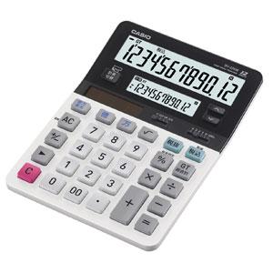 DV-220W-N カシオ ツイン液晶電卓 デスクタイプ 12桁(メイン)+12桁(サブ)