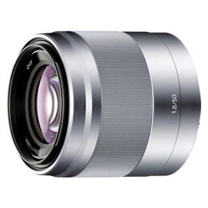 SEL50F18 ソニー E 50mm F1.8 OSS(シルバー) ※Eマウント用レンズ(APS-Cサイズ用)