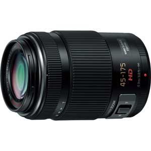 H-PS45175-K パナソニック LUMIX G X VARIO PZ 45-175mm F4.0-5.6 ASPH. POWER O.I.S ブラック ※マイクロフォーサーズ用レンズ