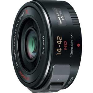 H-PS14042-K パナソニック LUMIX G X VARIO PZ 14-42mm F3.5-5.6 ASPH. POWER O.I.S ブラック ※マイクロフォーサーズ用レンズ