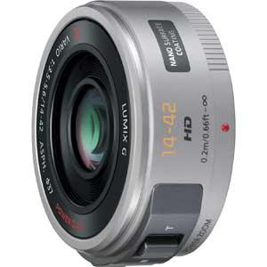 H-PS14042-S パナソニック LUMIX G X VARIO PZ 14-42mm F3.5-5.6 ASPH. POWER O.I.S シルバー ※マイクロフォーサーズ用レンズ