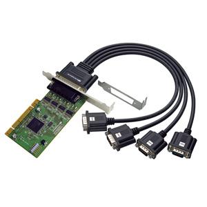 REX-PCI64D ラトックシステム 4ポート RS-232C・デジタルI/O PCIボード