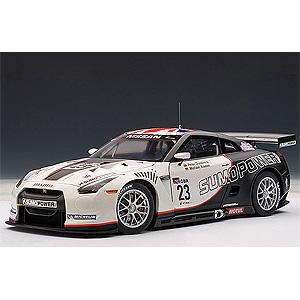 1/18 日産 GT-R FIA GT1 2010 SUMO POWER GT #23 ダンブレック/クルム【81078】 オートアート