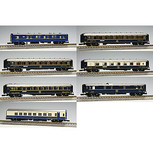 [鉄道模型]カトー 【再生産】(Nゲージ) 10-561 オリエントエクスプレス'88 7両基本セット