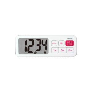 在TD-395-WH百利达数字计时器白TANITA外表加计时器[TD395WH]