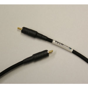 DIGI-DASRCA1.0M(テクダ テクダス 同軸デジタルケーブル(1.0m・1本)RCA端子 デジダス RCA プレシジョンデジタルケーブル