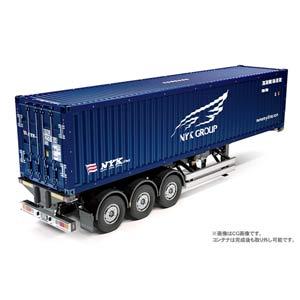 1/14 ビックトラック トレーラートラック用 日本郵船 40フィートコンテナ セミトレーラー【56330】 タミヤ