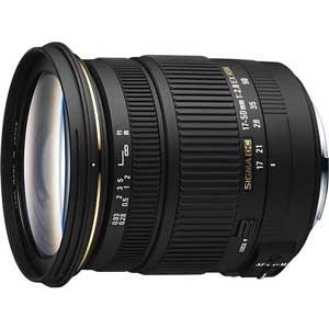 17-50/2.8EX_DC_SO シグマ 17-50mm F2.8 EX DC HSM ※ソニーAマウント用レンズ(APS-Cサイズ用)