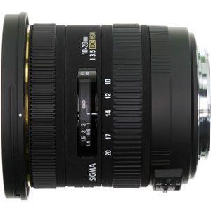 10-20/3.5_EX_DC_SA シグマ 10-20mm F3.5 EX DC HSM ※シグママウント用レンズ(APS-Cサイズ用)