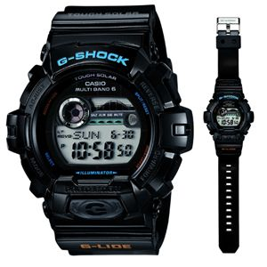 GWX-8900-1JF カシオ 【国内正規品】G-SHOCK G-LIDE Gショック ソーラー電波時計 [GWX89001JF]【返品種別A】