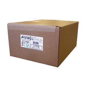 31152 エーワン パソコンプリンタ&ワープロラベルシール(プリンタ兼用)NEC文豪2列用 A4・12面・1000シート入