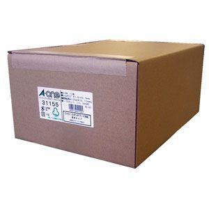 31155 エーワン パソコンプリンタ&ワープロラベルシール(プリンタ兼用)汎用タイプ・インチ改行 A4・12面・1000シート入
