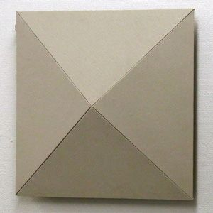 ARTEピラミツドウオ-ル-BE アルテ ルームチューニングピラミッド・ウォール壁掛用(ベージュ・1枚) arte PW-BE