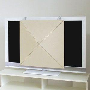 ARTEピラミツドTVカバ-BE アルテ ルームチューニングピラミッドシーリングTVカバー(ベージュ・1枚) arte