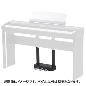 F-301 B カワイ ES7/ES8専用電子ピアノ3本ペダルユニット(グロスブラック) KAWAI