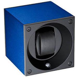 SK01.AE004 SWISS KubiK シングル ウォッチワインダー アルミニウム ネイビーブルー [SK01AE004]【返品種別B】
