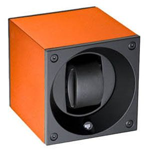 SK01.AE010 SWISS KubiK シングル ウォッチワインダー アルミニウム オレンジ [SK01AE010]【返品種別B】