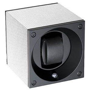 SK01-CF002 SWISS KubiK シングル ウォッチワインダー ホワイトカーボン [SK01CF002]【返品種別B】