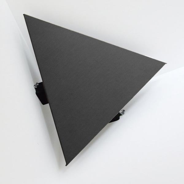 ARTEテトラ-BK(ペア) アルテ コーナー用拡散吸音ハイブリッドパネルテトラ(ブラック・2枚1組) arte TE-BK