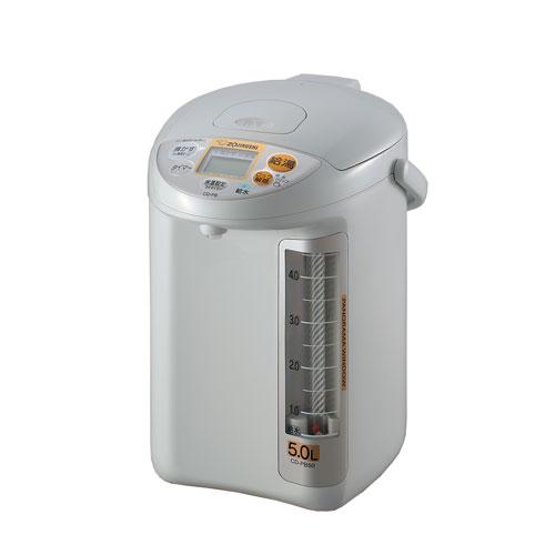 CD-PB50-HA 象印 マイコン沸とう電動ポット 5.0L グレー ZOJIRUSHI