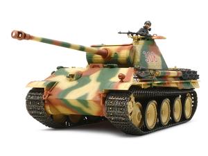 1/35 ドイツ戦車 パンサーG初期型(シングルモーターライズ仕様)【30055】 タミヤ