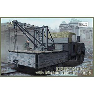 【再生産】1/35 独・アインハイツディーゼル6輪クレーン搭載トラック【PB35006】 IBG
