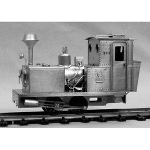 [鉄道模型]ワールド工芸 【再生産】(HOナロー) 芦別森林鉄道17号 バグナル 蒸気機関車 組立キット