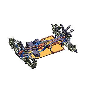 1/10電動RC 4WD レーシングバギー TRF511用アップグレードセット【84315】 タミヤ