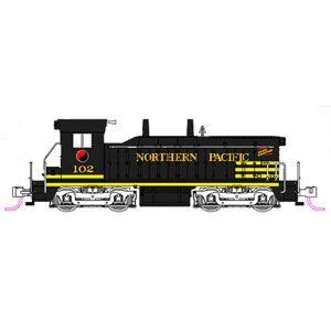 [鉄道模型]ホビーセンターカトー (Nゲージ) 176-4372 NW2 NP (ノーザン・パシフィック) #106