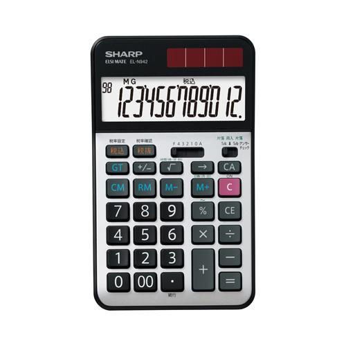 EL-N942X シャープ 卓上電卓 12桁(実務電卓)