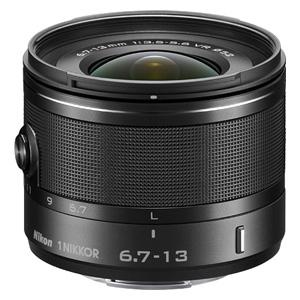 1NVR6.7-13BK ニコン 1 NIKKOR VR 6.7-13mm f/3.5-5.6(ブラック) ※ニコン1マウント用レンズ